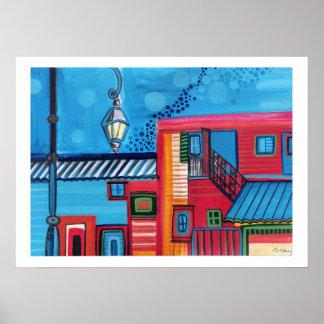 La Boca Houses Poster