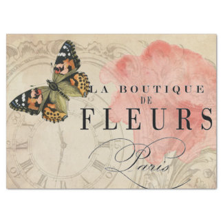 La Boutique Butterfly Decoupage Sheet