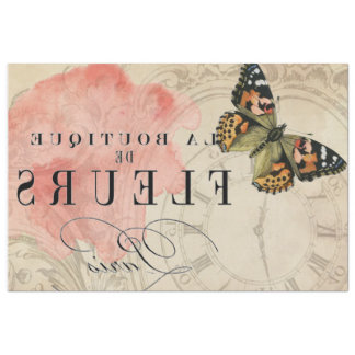 La Boutique Butterfly Image Transfer Sheet