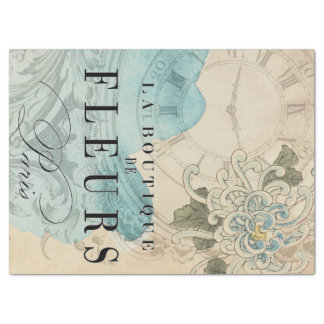 La Boutique Floral Decoupage Sheet