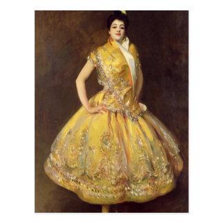 La Carmencita, 1890 Postcard