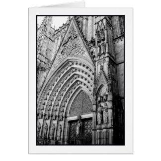 La Catedral Greeting Card