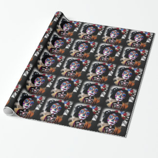 La Catrina Invokes the Spirits of the Ancestors Wrapping Paper