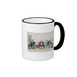 La Chambre Divisee en Trois Partis Ringer Coffee Mug