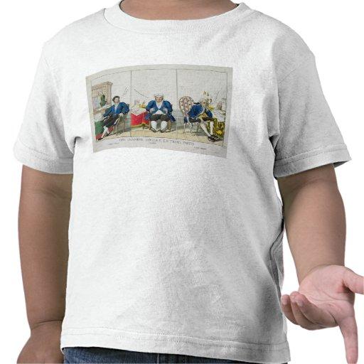 La Chambre Divisee en Trois Partis Tshirts