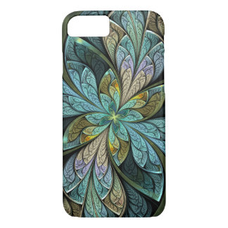 La Chanteuse Glace Turquoise Abstract iPhone 8/7 Case
