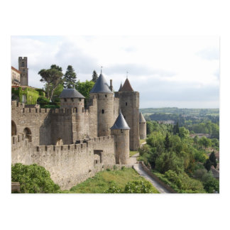 La Cite, Carcassonne Postcard