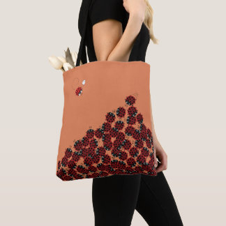 La Coccinelle - a crowded place in coral? Tote Bag