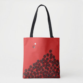 La Coccinelle - a crowded place? Tote Bag