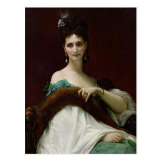 La Comtesse de Keller, 1873 Postcard