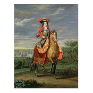 La Comtesse de Soissons Postcard