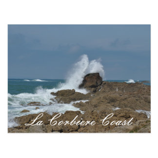 La Corbier Coast Postcard