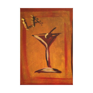 """""""LA COSMO"""" REPRINT OF ACRYLIC PAINTING ON CANVAS"""