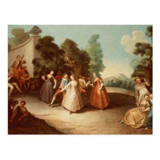 La Danse Postcard