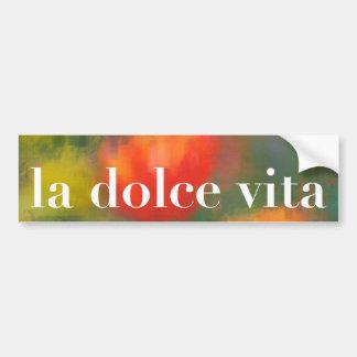 La Dolce Vita Tulips Painting Bumper Stickers