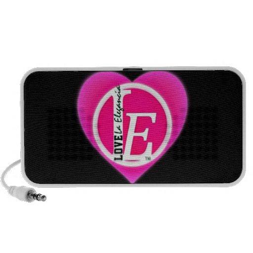 La Elegancia's Logo Laptop Speaker