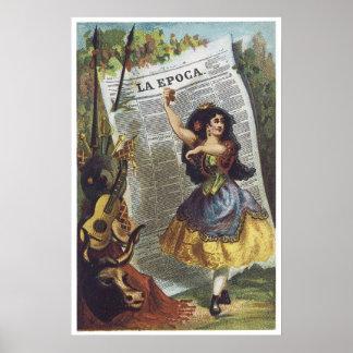 La Epoca Poster