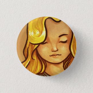 La fabbricante di pennuti 3 cm round badge
