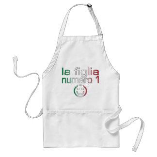 La Figlia Numero 1 - Number 1 Daughter in Italian Standard Apron