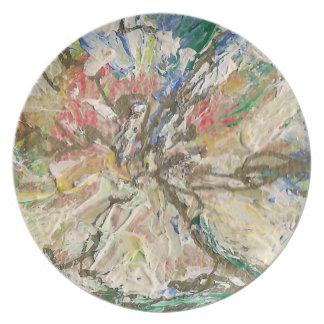 """La fleur"" ceramic plate"