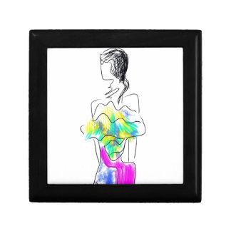 La Fleur Fashion Illustration Gift Box