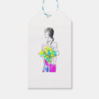 La Fleur Fashion Illustration Gift Tags