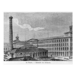 La Foudre' cotton mill Postcard