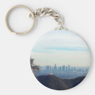 LA framed mountain Key Ring