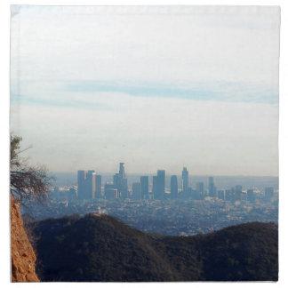 LA framed mountain Napkin