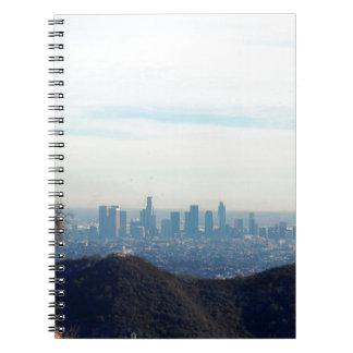 LA framed mountain Notebook