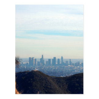 LA framed mountain Postcard