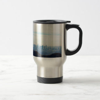 LA framed mountain Travel Mug