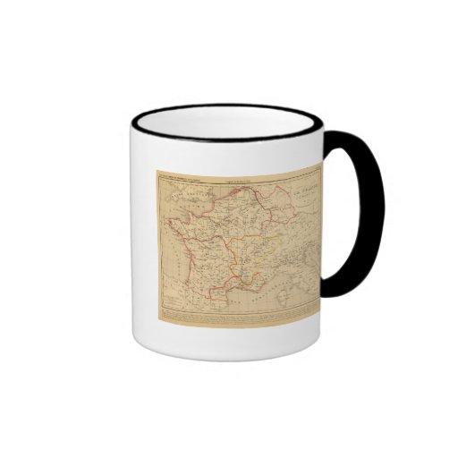 La France a la mort de Clovis en 510 Mugs