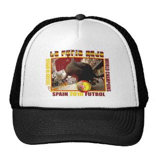 La Furia Roja Spanish Bull Soccer Futbol Cap