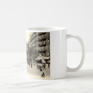 La Gare du Nord Paris, France c1905 Vintage Coffee Mug