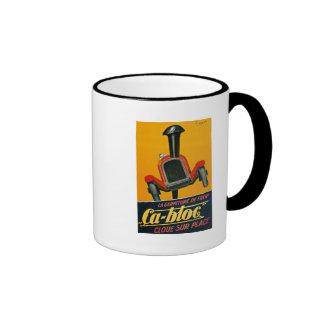 """La Garniture de Frein """"Ca-Bloc"""" Cloue Sur Place Ringer Mug"""