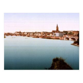 La Garonne Toulouse France Postcard