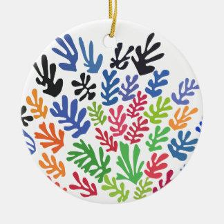 La Gerbe by Matisse Ceramic Ornament