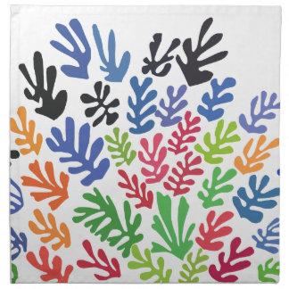 La Gerbe by Matisse Napkin