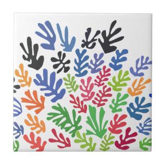 La Gerbe by Matisse Small Square Tile