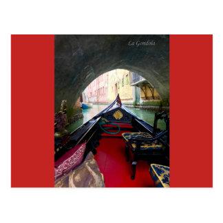 La Gondola Postcard