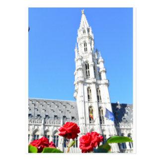La Grand Place, Brussels Postcard
