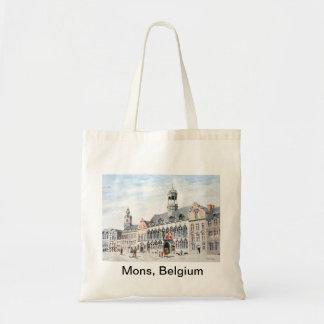 La Grand-Place de Mons Budget Tote Bag