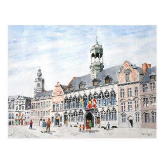 La Grand-Place, Mons, Belgium Postcard