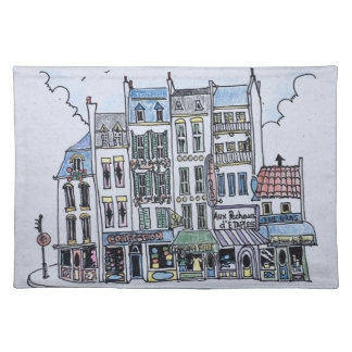 La Grand Rue | Boulogne-Sur-Mer, France Placemat