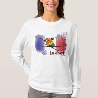 La Grave France ski hoodie