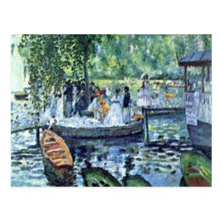 La Grenouillere1 by Pierre Renoir Postcard