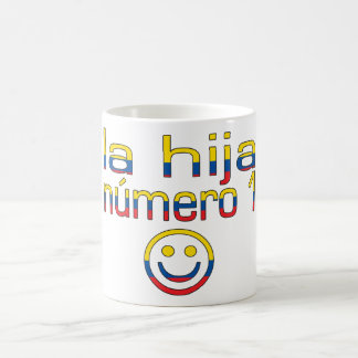 La Hija Número 1 - Number 1 Daughter in Ecuadorian Coffee Mug