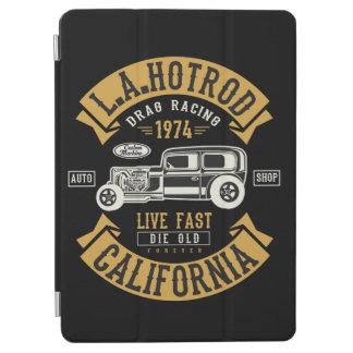 LA Hotrod California Drag Racing 1974 iPad Air Cover