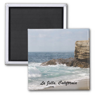 La Jolla, California Square Magnet